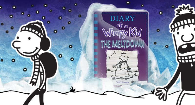 Step into the Diary of a Wimpy Kid and Explore the Meltdown!